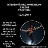 Afro workshopy s Raduš / SECTOR